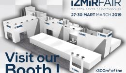 Salon du Marbre d'Izmir 2019